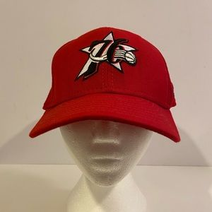 Philadelphia 76ers Red Fitted Hat size 7 1/2